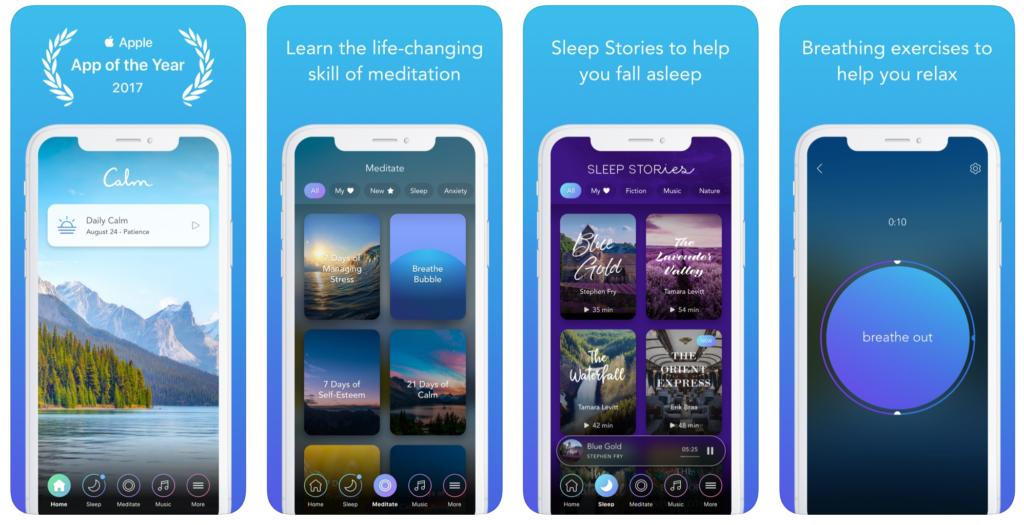 Il Caso E Il Contesto Dell App Mobile Di Meditazione Calm Be Unsocial